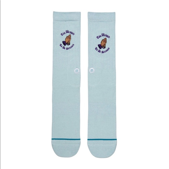 Too Blessed To Be Stressed Stance Socks